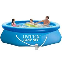 Бассейн Intex EASY SET 28122 + фильтр (6+)
